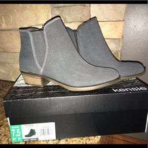 Kensie Gerona Womens Ankle Boots NEW Size 7.5